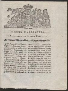 Gazeta Warszawska. R.1781 Nr 104