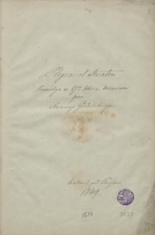 Przyjaciel swatem. Komedya w 1 akcie wierszem [...]. Auteuil pod Paryżem 1849