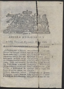 Gazeta Warszawska. R.1782 Nr 8