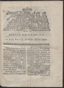 Gazeta Warszawska. R.1782 Nr 13