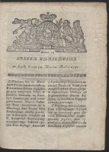 Gazeta Warszawska. R.1782 Nr 23