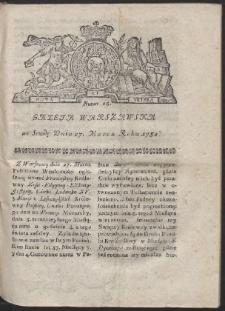 Gazeta Warszawska. R.1782 Nr 25