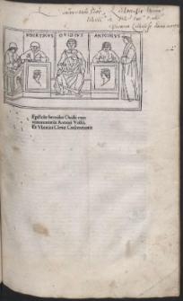 Heroides, cum commento Antonii Volsci et Hubertini Clerici. Sapho et Ibis cum commento Domitii Calderini