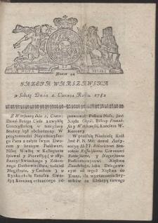 Gazeta Warszawska. R.1782 Nr 44