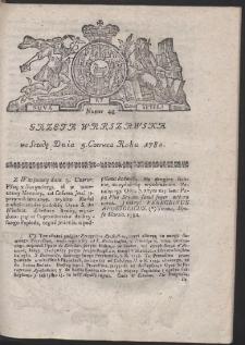 Gazeta Warszawska. R.1782 Nr 45