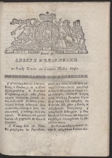 Gazeta Warszawska. R.1782 Nr 47