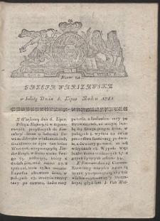 Gazeta Warszawska. R.1782 Nr 54