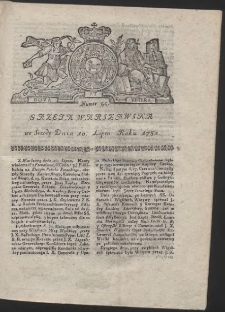 Gazeta Warszawska. R.1782 Nr 55
