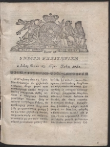 Gazeta Warszawska. R.1782 Nr 56