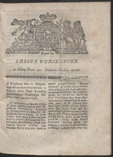 Gazeta Warszawska. R.1782 Nr 64