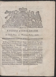 Gazeta Warszawska. R.1782 Nr 73