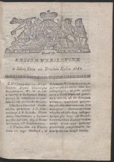 Gazeta Warszawska. R.1782 Nr 76