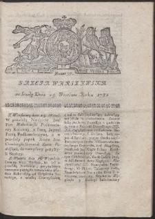 Gazeta Warszawska. R.1782 Nr 77