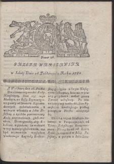 Gazeta Warszawska. R.1782 Nr 86