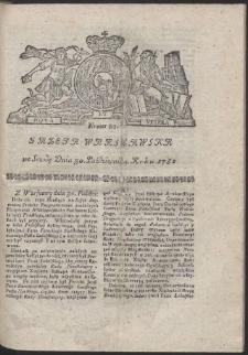 Gazeta Warszawska. R.1782 Nr 87