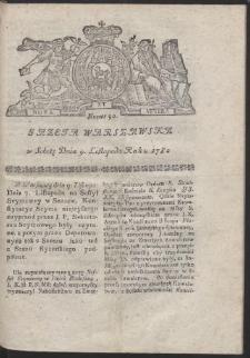 Gazeta Warszawska. R.1782 Nr 90