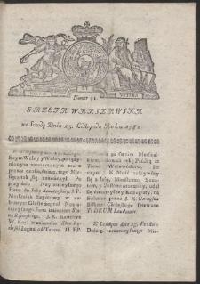 Gazeta Warszawska. R.1782 Nr 91
