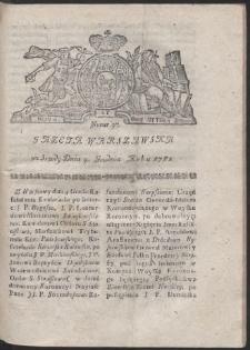 Gazeta Warszawska. R.1782 Nr 97