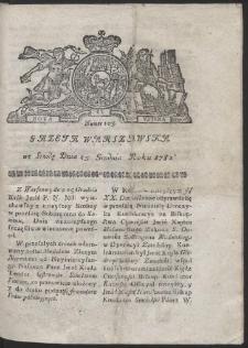 Gazeta Warszawska. R.1782 Nr 103
