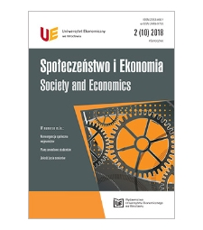 Spis treści [Społeczeństwo i Ekonomia = Society and Economics, 2018, Nr 2 (10)]