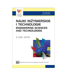 Spis treści [Nauki Inżynierskie i Technologie = Engineering Sciences and Technologies, 2018, Nr 2 (29)]