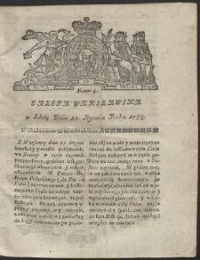Gazeta Warszawska. R.1783 Nr 4