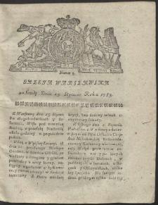 Gazeta Warszawska. R.1783 Nr 5