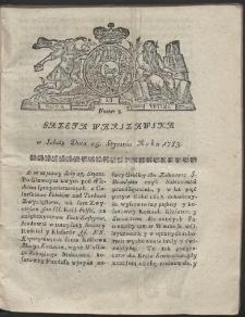 Gazeta Warszawska. R.1783 Nr 8