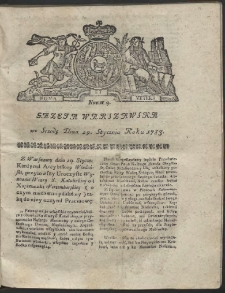 Gazeta Warszawska. R.1783 Nr 9