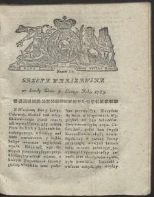 Gazeta Warszawska. R.1783 Nr 11