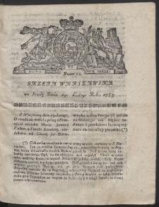 Gazeta Warszawska. R.1783 Nr 15