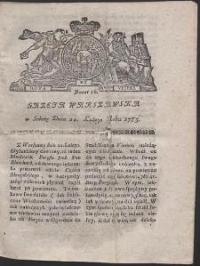 Gazeta Warszawska. R.1783 Nr 16