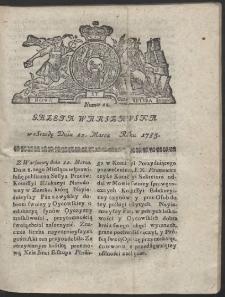 Gazeta Warszawska. R.1783 Nr 21