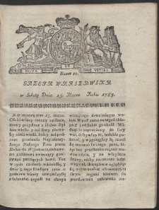 Gazeta Warszawska. R.1783 Nr 22