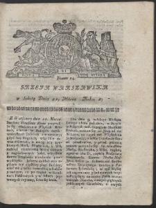 Gazeta Warszawska. R.1783 Nr 24