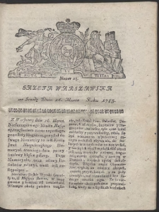 Gazeta Warszawska. R.1783 Nr 25