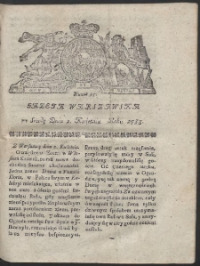 Gazeta Warszawska. R.1783 Nr 27
