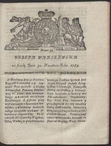 Gazeta Warszawska. R.1783 Nr 35