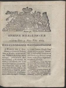 Gazeta Warszawska. R.1783 Nr 36