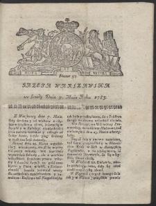 Gazeta Warszawska. R.1783 Nr 37