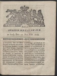 Gazeta Warszawska. R.1783 Nr 41