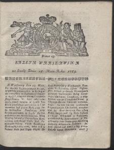 Gazeta Warszawska. R.1783 Nr 43