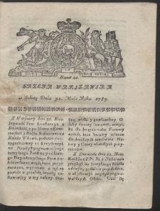 Gazeta Warszawska. R.1783 Nr 44