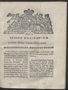 Gazeta Warszawska. R.1783 Nr 45