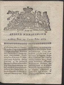 Gazeta Warszawska. R.1783 Nr 48