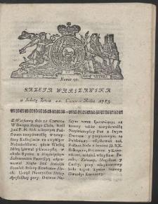 Gazeta Warszawska. R.1783 Nr 50