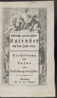 Historisch-Genealogischer Calender auf das Jahr 1802 […]