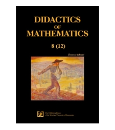 Spis treści [Didactics of Mathematics, 2011, Nr 8 (12)]