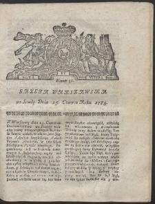 Gazeta Warszawska. R.1783 Nr 51