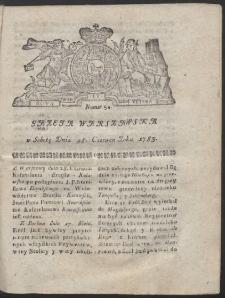 Gazeta Warszawska. R.1783 Nr 52